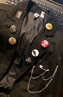 DIY Weekend: The beginnings of a goth blazer