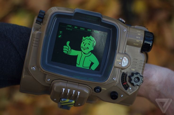 A closer look at the Fallout 4 Pip-Boy