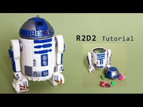 Star Wars R2-D2 Polymer Clay Tutorial - YouTube