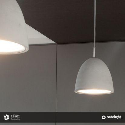 Kasteel Pendant Lighting Collection - Aëon Illumination - Decorative concrete feature pendant light (Satelight)