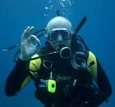 Awesome scuba diving.