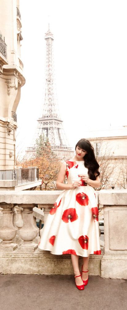 Dreaming of Hana Printed Prom Dress @thecherryblossomgirl
