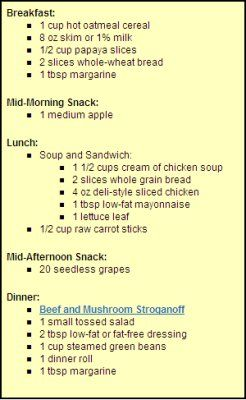 Create the Heartburn-Safe Diet: Creating heartburn-friendly meals - Daily Menus