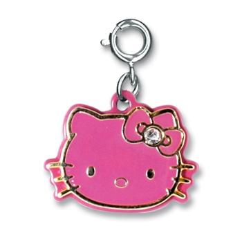 CHARM IT! Hello Kitty Pink & Gold Charm: Hello Kity, Bracelet Charms, Shop Charm, Kitty Pink, Hello Kitty, Kitty Stocks