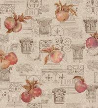 Papel pintado para cocinas con frutas y columnas - 1005956