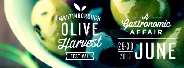 The inaugural Martinborough Olive Harvest Festival 29-30 June 2013