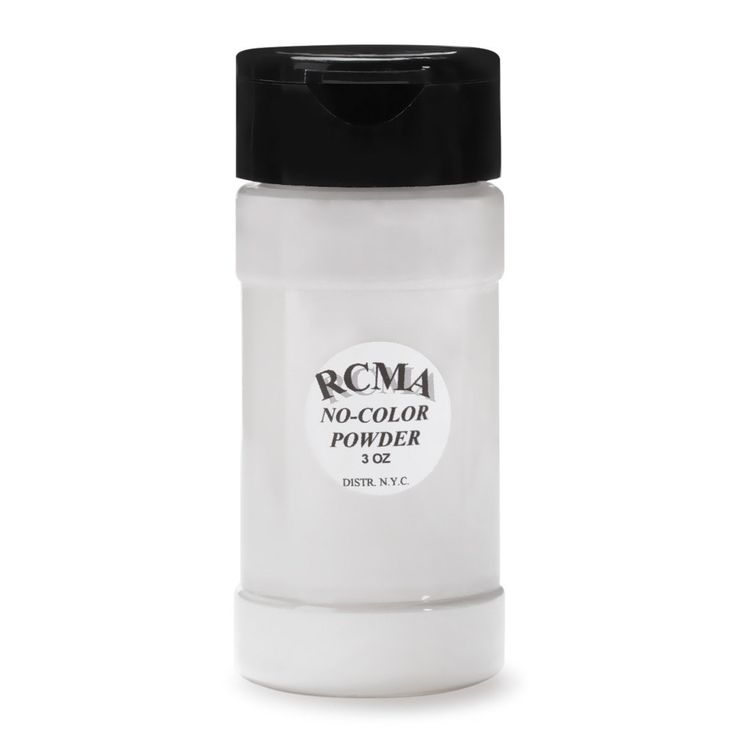 "RCMA Makeup No Color Powder 3 oz. | Beautylish $10 and free shipping in the U.S. ""RCMA Makeup No Color Powder can be used for all powdering purposes. Because it has no filler or pigment, it will not alter the color of foundation bases. RCMA Powder will keep your foundations set and dry without caking!"""