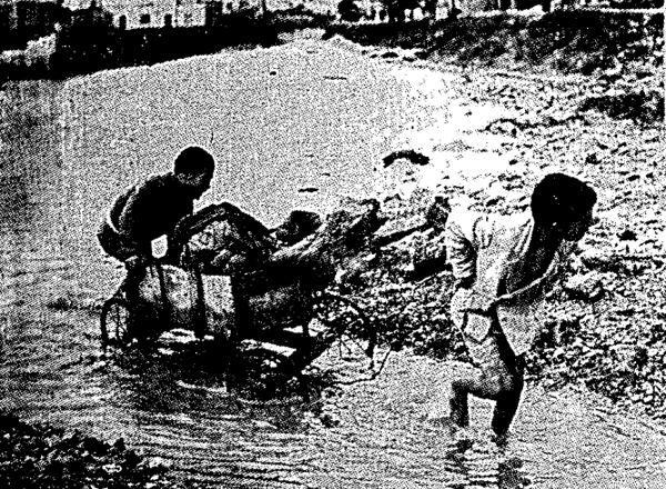 Η φονική πλημμύρα του 1961 στην Αθήνα