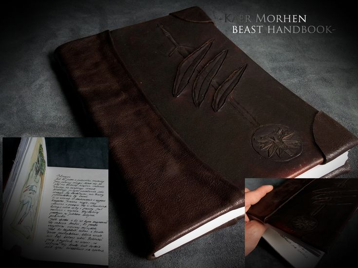The Witcher theme notebook. Once again - made by me :)