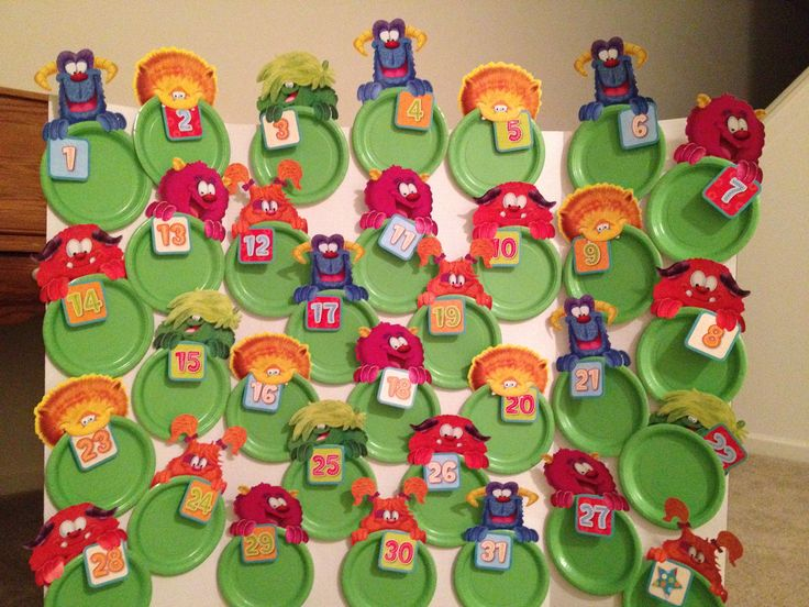 Monster Shower Memory Game