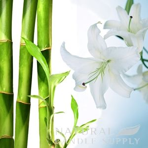Bamboo and White Lily Candle Fragrance Oil