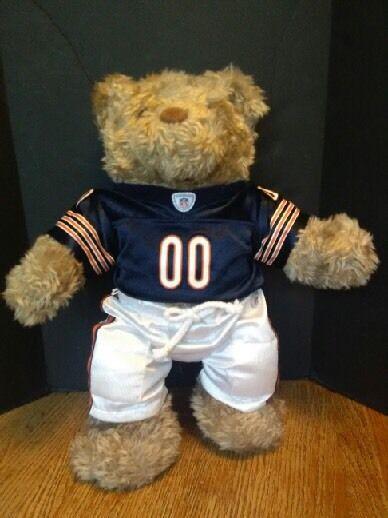 a2df6c652a9 Details about (1012) NFL ~ Chicago Bears Build A Bear
