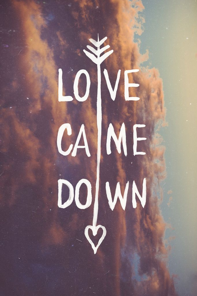 Love came down and rescued me, Love came down and set me free, I am yours I am forever yours!