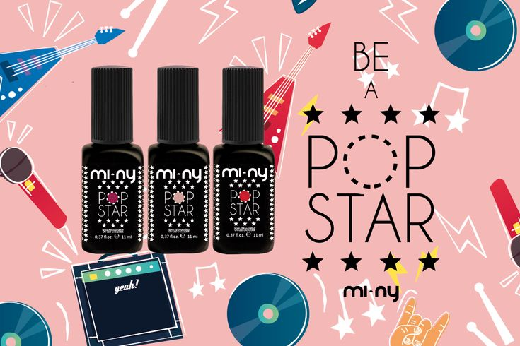 MI-NY PENSA ALL'ESTATE CON LA NUOVA COLLEZIONE DI SMALTI SEMIPERMANENTI POP STAR!