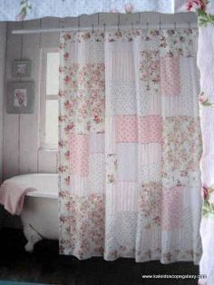 Cool & Unique shabby chic Shower Curtain Ideas for Small Bathroom #shabbychicbathroomsshower #shabbychicbathroomssmall #shabbychicbathroomscurtains #bathroomideas