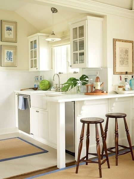 Small farmhouse kitchenette.                                                                                                                                                     More