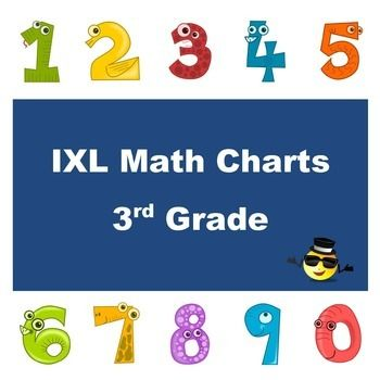 Motivate your students to practice math skills on IXL with these fun charts. As students complete each skill, they can draw a picture or place a sticker in the corresponding circle on the chart, and then store their charts in a folder or binder to see the progress they have made.Included in this kit are charts for each 3rd grade IXL category (addition, subtraction, division, division skill builders, etc.) and a tracking sheet for the teacher.