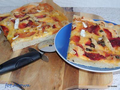 Moje Małe Czarowanie: Buraczana pizza z chrzanem