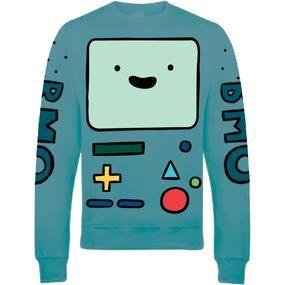 Adventure Time: Sweatshirt: BMO
