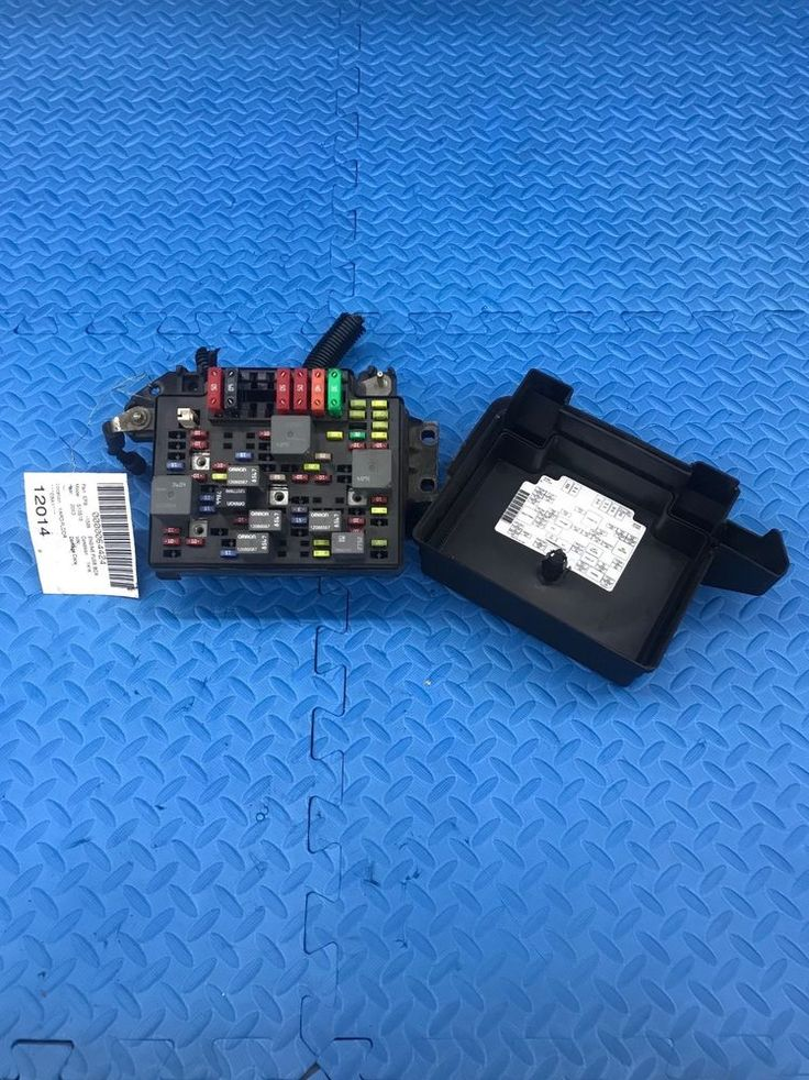 Genuine GM Truck Part Engine Relay Fuse Power Distribution Junction Box 15075526 #GM