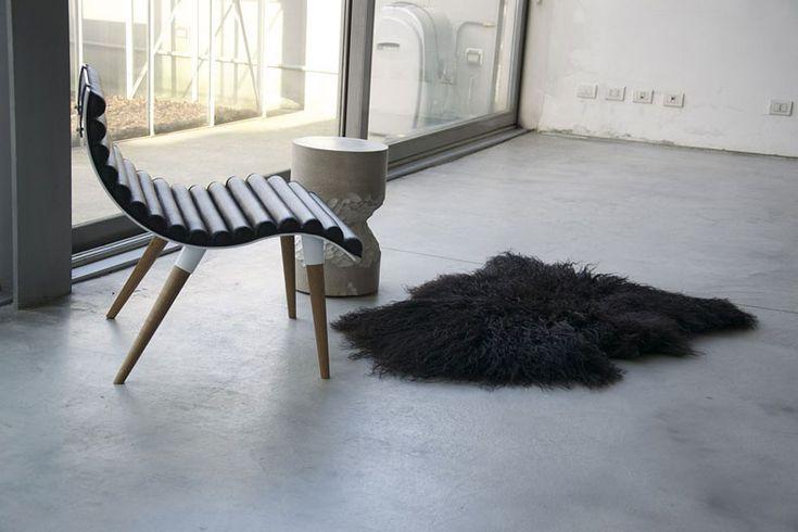 Curve Chair by Castor Design - Студия из Торонто Castor Design выполнила дизайн стула Curve.