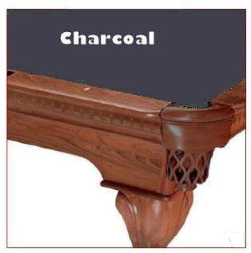 10' Charcoal ProLine Classic Billiard Pool Table Cloth Felt
