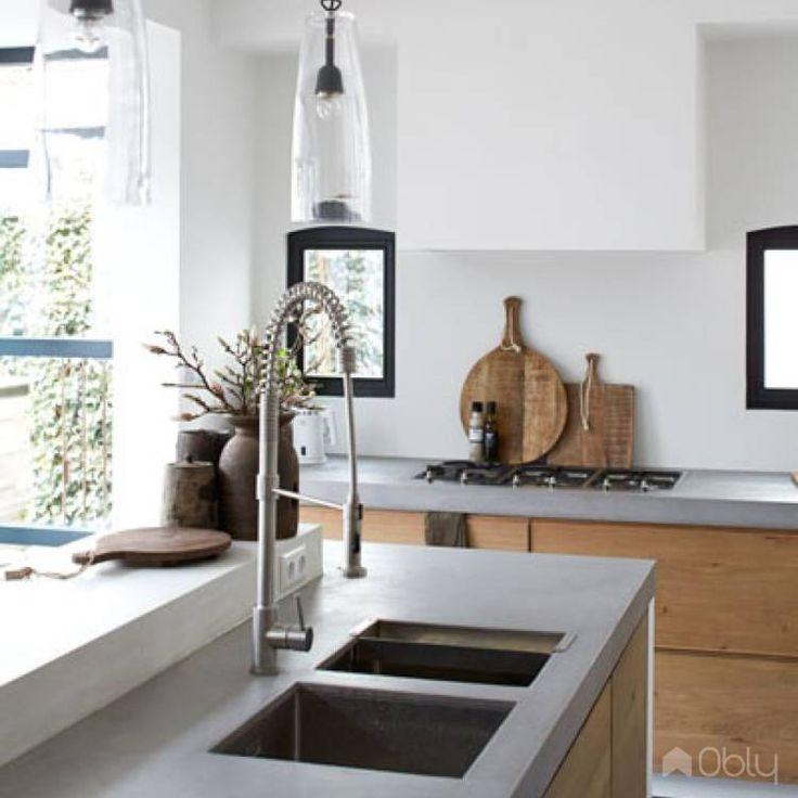 29 best keuken images on Pinterest Kitchen ideas, Small kitchens - Wandfarbe Zu Magnolia Fronten