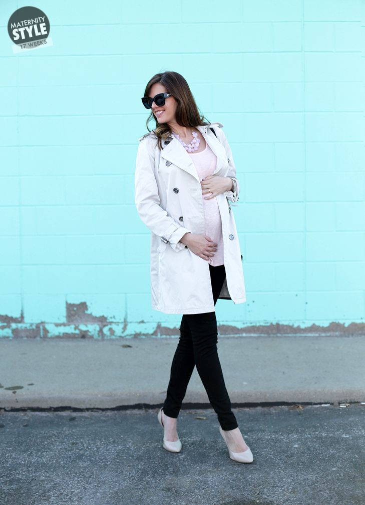 Pregnancy Style, Maternity Style, Spring, Ballet Pink Outfit, @Jessica Quirk | What I Wore