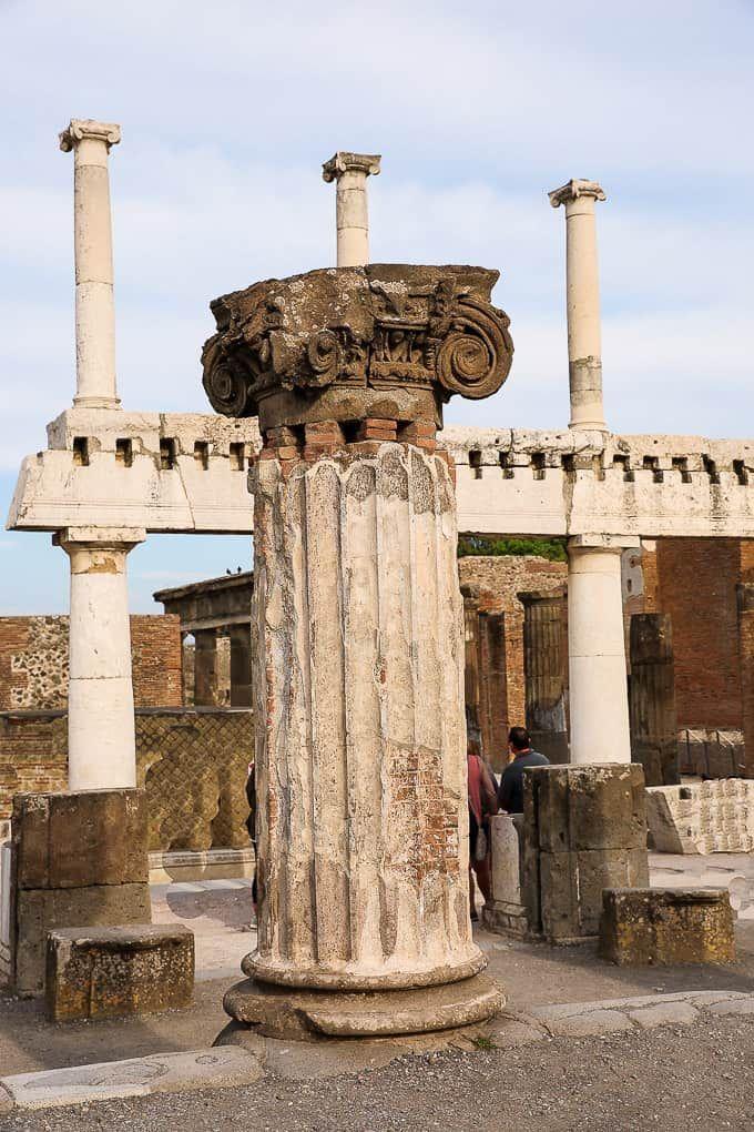 Forum Pompeii Italy Pompeii Pompeii Italy Italy