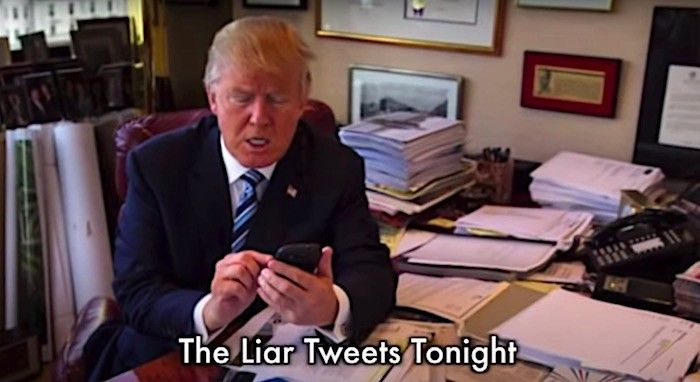 In The White House The Liar Tweets Tonight Boing Boing In 2020 The Lion Sleeps Tonight Liar Tonight