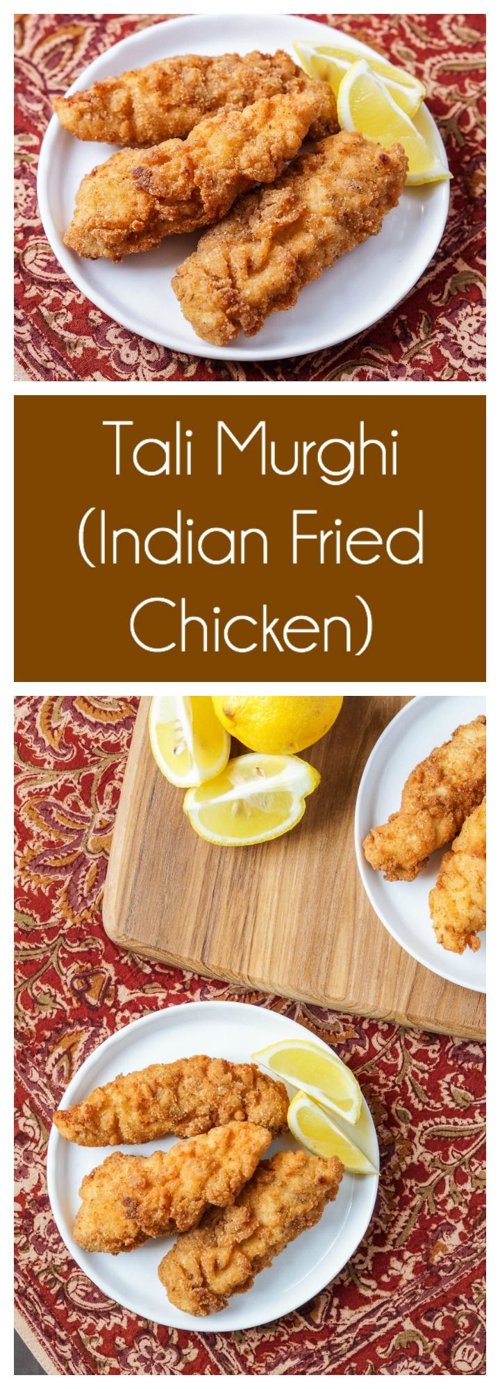 Tali Murghi (Indian Fried Chicken) from the Regional Indian Cooking book.   #ad #talimurghi #murgh #chicken #India #Indian #friedchicken #cookbook