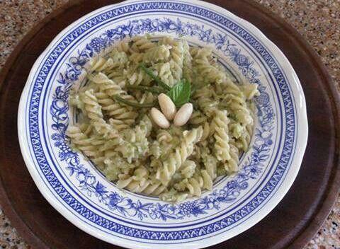Pasta con pesto ai fagiolini www.nutriercol.it