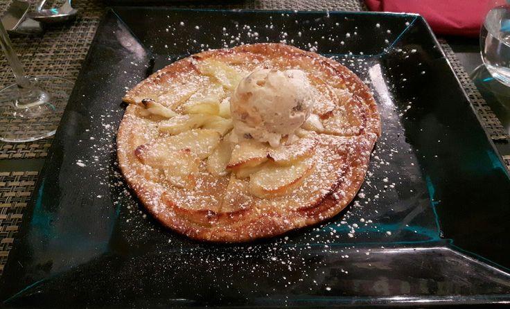 Riquísima tarta de manzana