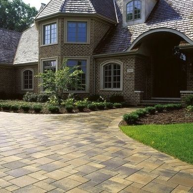 A Paver Driveway Can Be A Big Boost To Curb Appeal; An Enormous Array Of