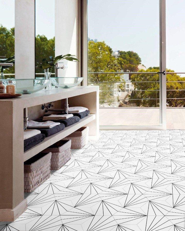 Le Carrelage Hexagonal Aster Est Une Parfaite Combinaison Entre