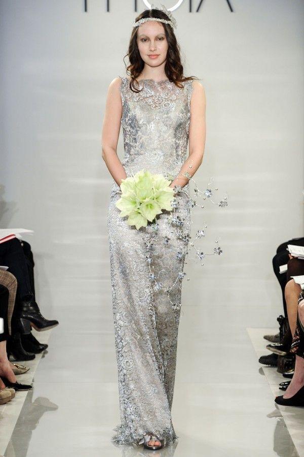 Robe de mariée 2015 de couleur - Theia
