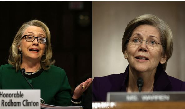 Conservative reaction to Clinton-Warren 2016 ticket - howls of laughter or utter fear? 12-28-14 I am laughing!