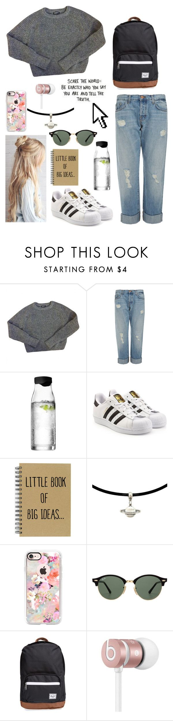 """""""Viewing a gallery💫"""" by kylieirwin11 ❤ liked on Polyvore featuring American Apparel, J Brand, Menu, adidas Originals, Casetify, Ray-Ban, Herschel Supply Co., Beats by Dr. Dre and Pointer"""