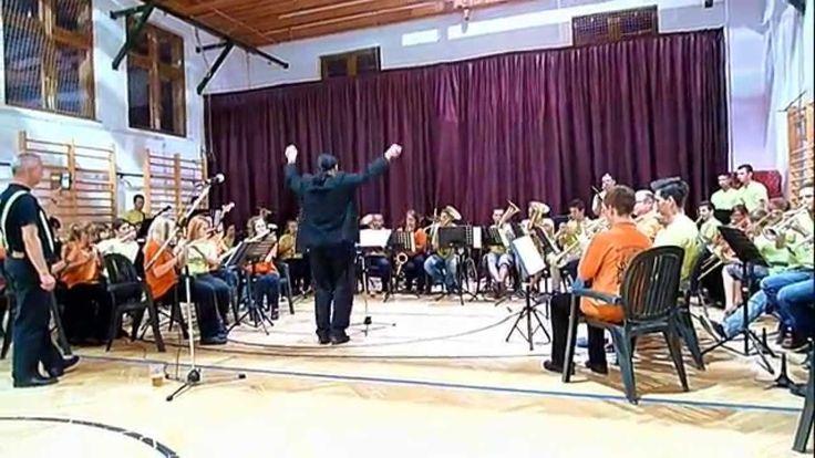 """""""Radetzky"""" Marsch Nachwuchsorchester """"FRISCHGLÜCK""""  Annaberg/Erzgebirge ..."""