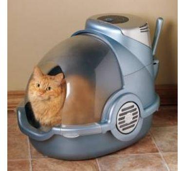 Bionaire Odor grabber - kuweta dla kota z elektronicznym oczyszczaczem powietrza - Sklep Zoologiczny Glonojad