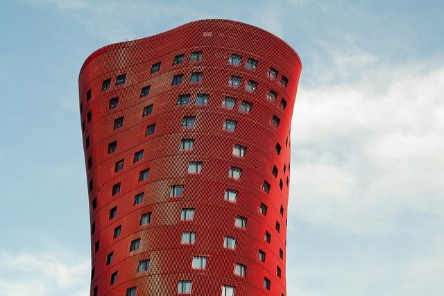 Hotel Santos Porta Fira by derkeNuke, via Flickr