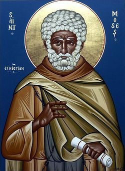 St. Moses the Black.