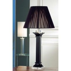 """Galway Crystal - Deco Large Lamp 29"""" and Free Shade. €199.00"""