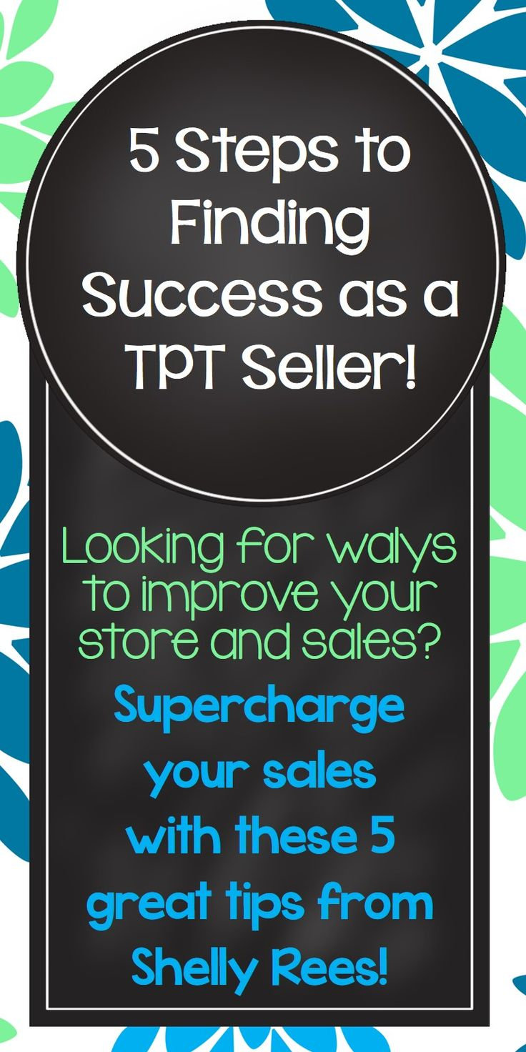 An excellent blog post by Teacher-Author Shelly Rees on how to supercharge your TPT store!