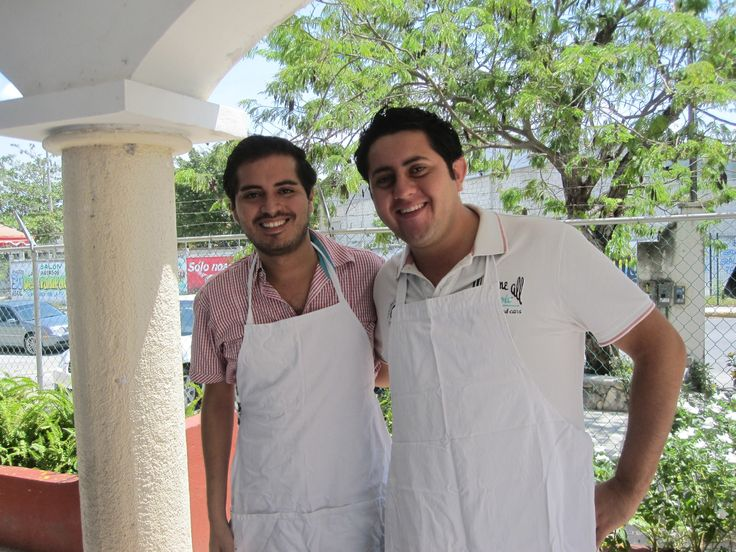Roberto and Antonio - our guides in Cancun.