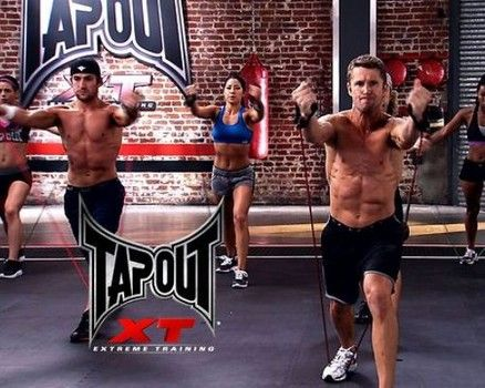 """Blast calories and fat with the man whom Dr. Oz calls the """"weight loss warrior."""" Burn up to 1,200 calories per workout: http://www.examiner.com/article/dr-oz-reshape-your-body-six-days-with-1200-calorie-mma-tapout-xt-workouts"""