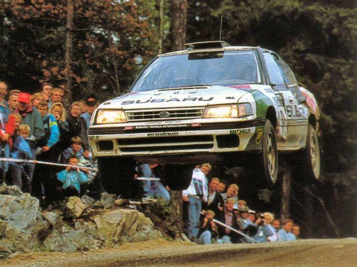 Colin McRae Finland 1992 - Subaru Legacy RS Turbo
