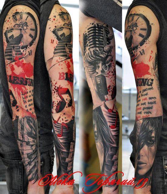 Tatuaje en el braso