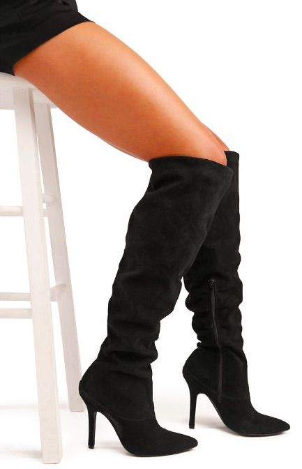 ec32f630922 MULLER Over the Knee Slouch Boot by Charles David ~ Today s Fashion Item