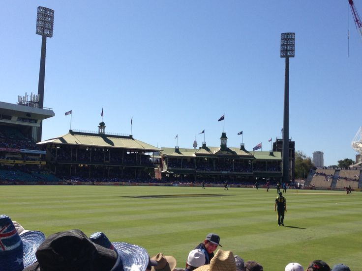 A day of cricket at the SCG